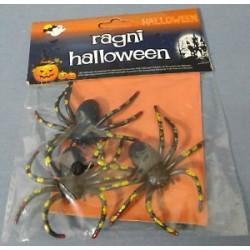 Pack 3 aranhas plásticas