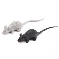 Pack 6 ratos em borracha