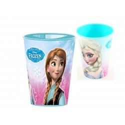 Copo plástico 260ml Frozen
