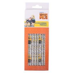 Pack 10 lápis de cor Minions