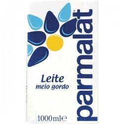 Leite Parmalat meio gordo 1Lt