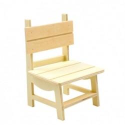 Mini cadeira em madeira