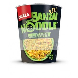 Cigala Noodles sabor a caril 67g