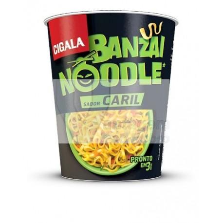Cigala Noodles sabor a caril 67g