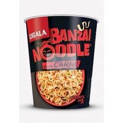 Cigala Noodles sabor a carne 67g