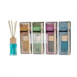 Pack de 4 mikados 30ml (baunilha/bambú/violeta/jasmin) - só vendido ao pack