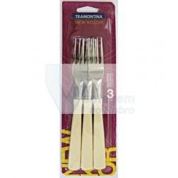 Pack 3 garfos brancos