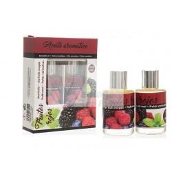 Cj. 2 frascos de óleo aromático Frutos Vermelhos 10ml + 10ml