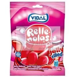 Gomas Vidal 100gr - Besos rellenos