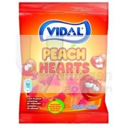 Gomas Vidal 100gr - Corações de pêssego