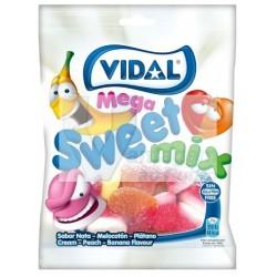 VIDAL saqueta de gomas megasurtido açúcar 100gr