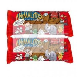 Bolachas Animalitos Mel e Canela 150gr