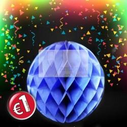 Balão decorativo 20cm - cores sortidas