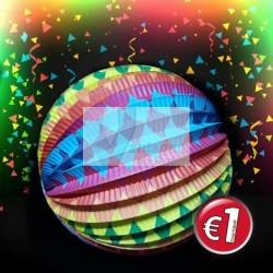 Balão decorativo multicolor 25cm