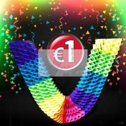Fita decorativa 4mt multicolor