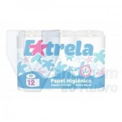 """Pack de 12 rolos de papel higiénico """"Estrela"""""""