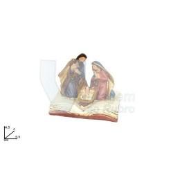 Livro c/ presépio 5.5x4xcm