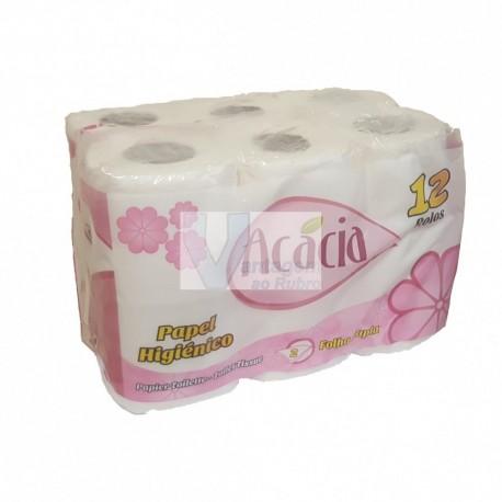 Pack 12 rolos de papel higiénico Acácia