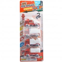 Brinquedo conjunto de carrinhos