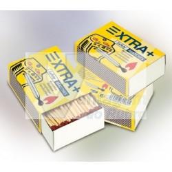 Pack 4 caixas de fósforos (tamanho normal)