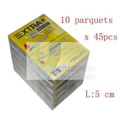 Pack de 10 caixas de mini fósforos