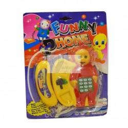 Brinquedo telefone c/ pilhas