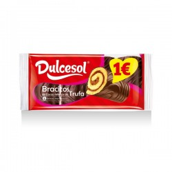 Dulcesol Bracitos Trufa 4u