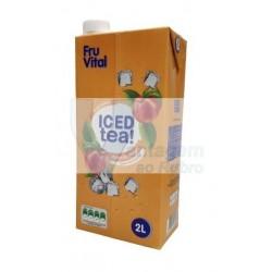 Ice tea pêssego Fruvital 2LT