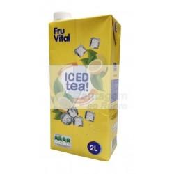 Ice tea limão Fruvital 2LT