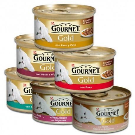 Comida de gato gourmet Purina