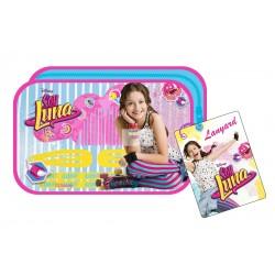 """Bolsa c/ acessórios cabelo """"Soy Luna"""""""