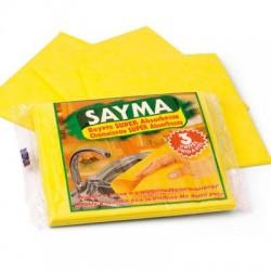Cj. 3 panos de limpeza amarelas