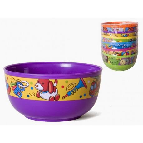 Taça de plástico infantil 950ml