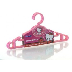 Disney Hello Kitty Cj. 2 cabides rosas