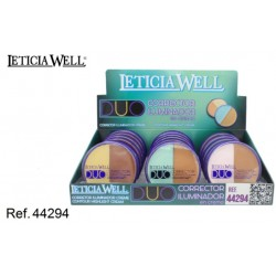 Leticia Wells - Duo corretor + iluminador em creme