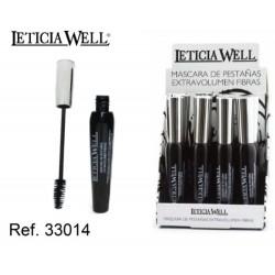 Leticia Wells - Máscara volume extra preta