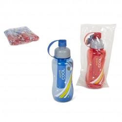 Garrafa plástico c/ acumulador 600ml