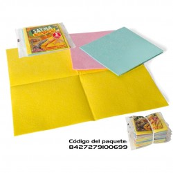 Sayma - Cj. 3 panos multiusos coloridos