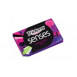 Trident pastilha elástica senses berry party