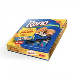 Nefis pack 4 pacotes rono coco 260g