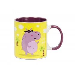 Caneca hipopótamo 320ml