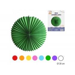 Balão de papel 28cm diâmetro cores sortidas