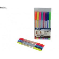 Pack de 10 canetas coloridas