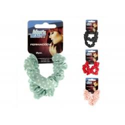 Pack 2 elásticos p/ cabelo cores sortidas