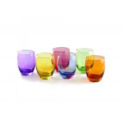 Copo vidro colorido 380ml