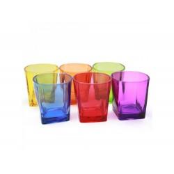 Copo vidro colorido 240ml