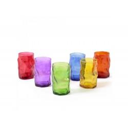 Copo vidro colorido 350ml