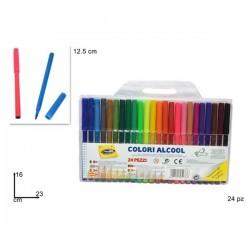 Pack 24 canetas de feltro