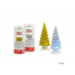 Árvore de Natal em acrílico 15cm