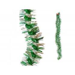Fita de natal verde 2.7mt x 8cm